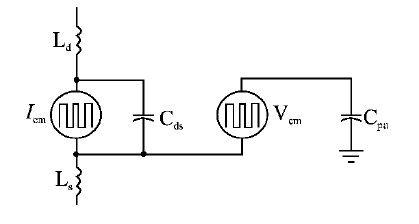 建立开关电源集中参数的电路模型