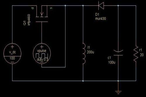 buck-boost电路的工作过程1