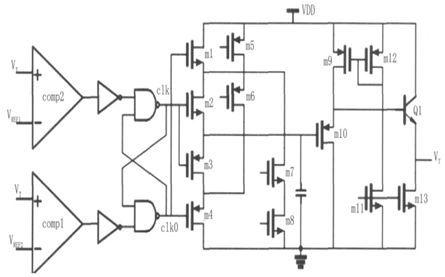 内部振荡电路 本文采用的三角波产生电路结构如图6