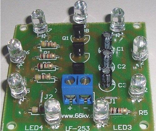 led电容接线图解