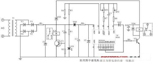 断电延时继电器设计方案