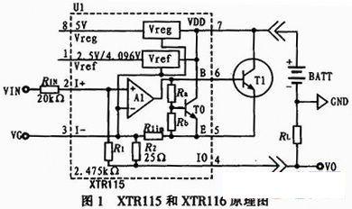 xtr115电流环电路原理及应用